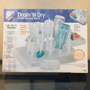 Drain 'N Dry Bottle Drying Rack